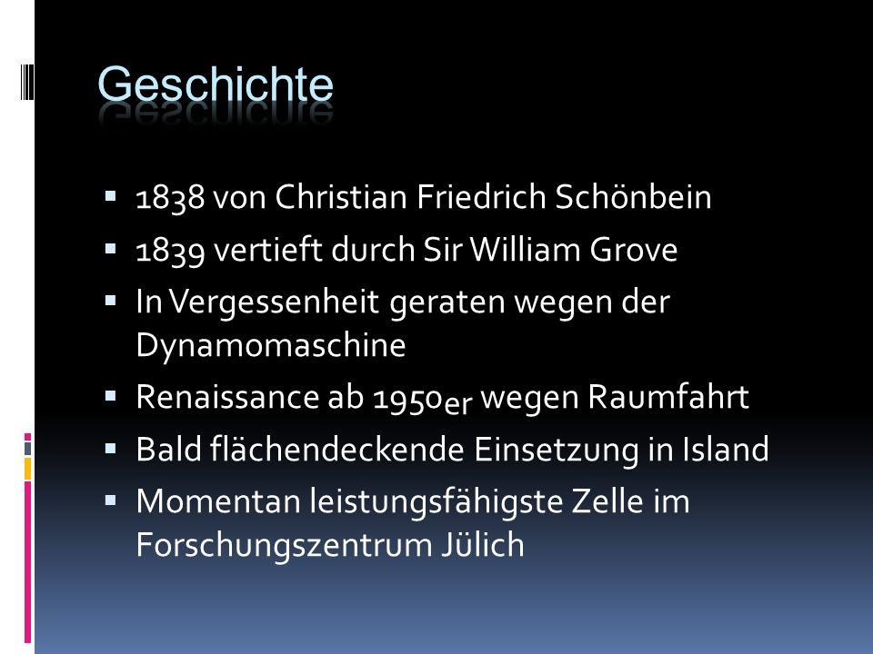 Geschichte 1838 von Christian Friedrich Schönbein