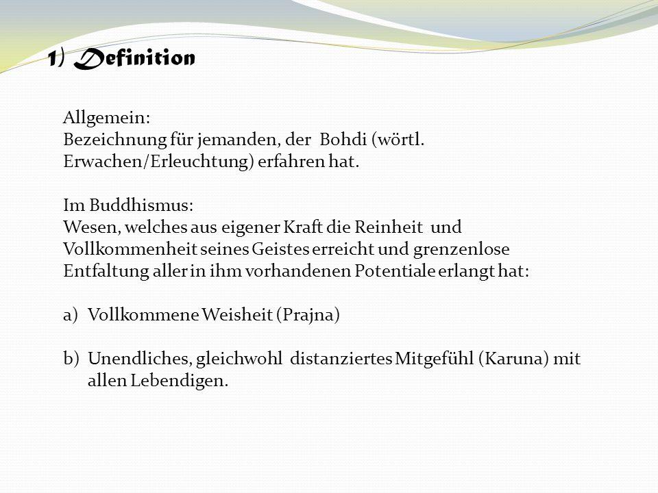 1) Definition Allgemein: