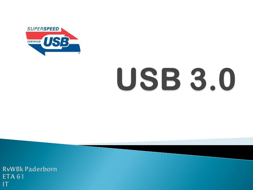 USB 3.0 RvWBk Paderborn ETA 61 IT