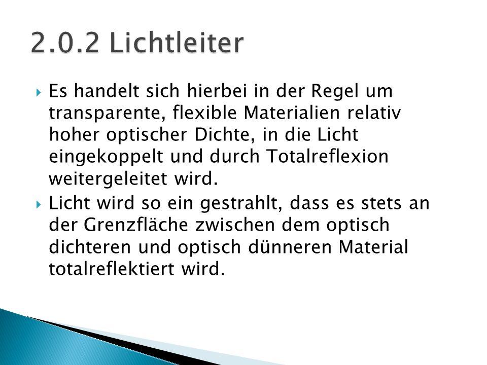 2.0.2 Lichtleiter