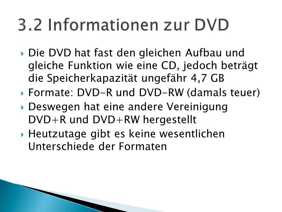 3.2 Informationen zur DVD