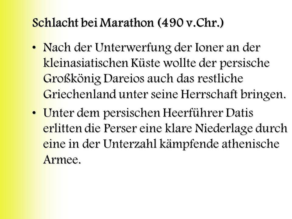 Schlacht bei Marathon (490 v.Chr.)
