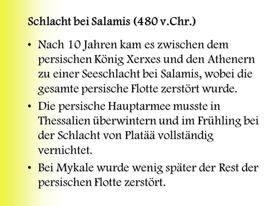 Schlacht bei Salamis (480 v.Chr.)