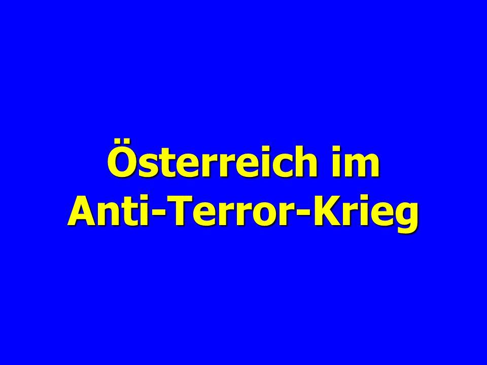 Österreich im Anti-Terror-Krieg