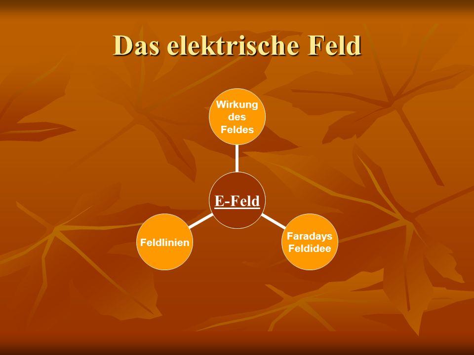 Das elektrische Feld