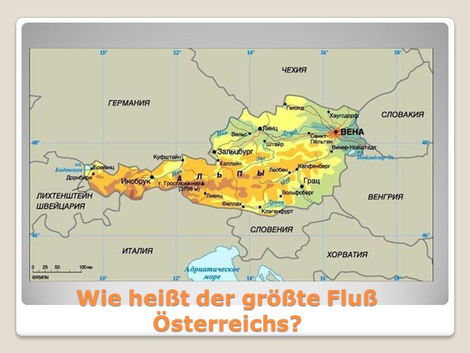 Wie heißt der größte Fluß Österreichs