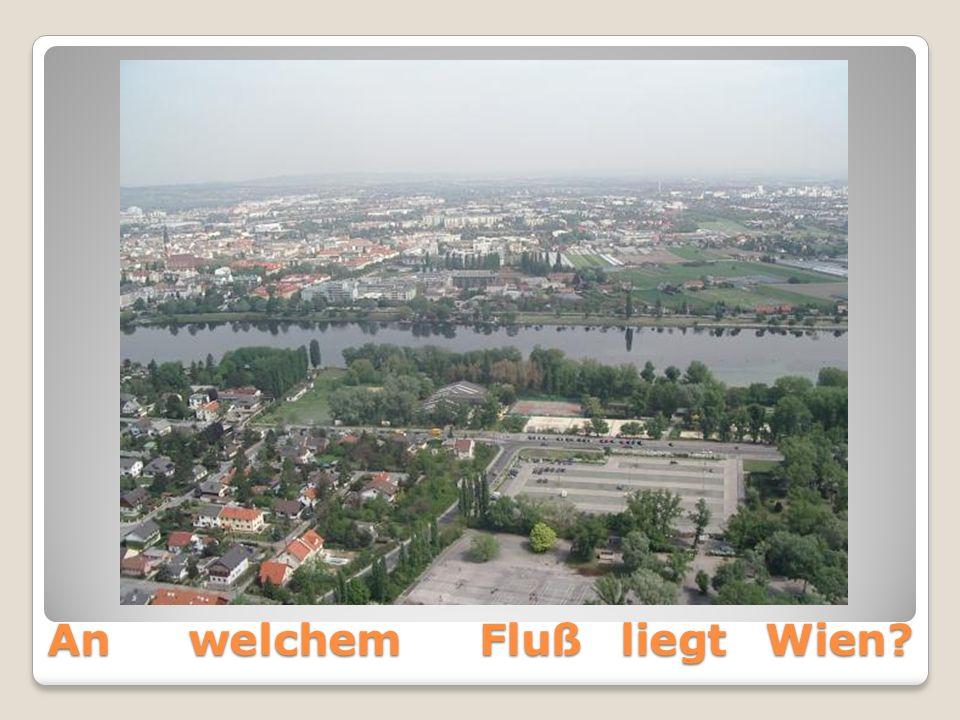 An welchem Fluß liegt Wien