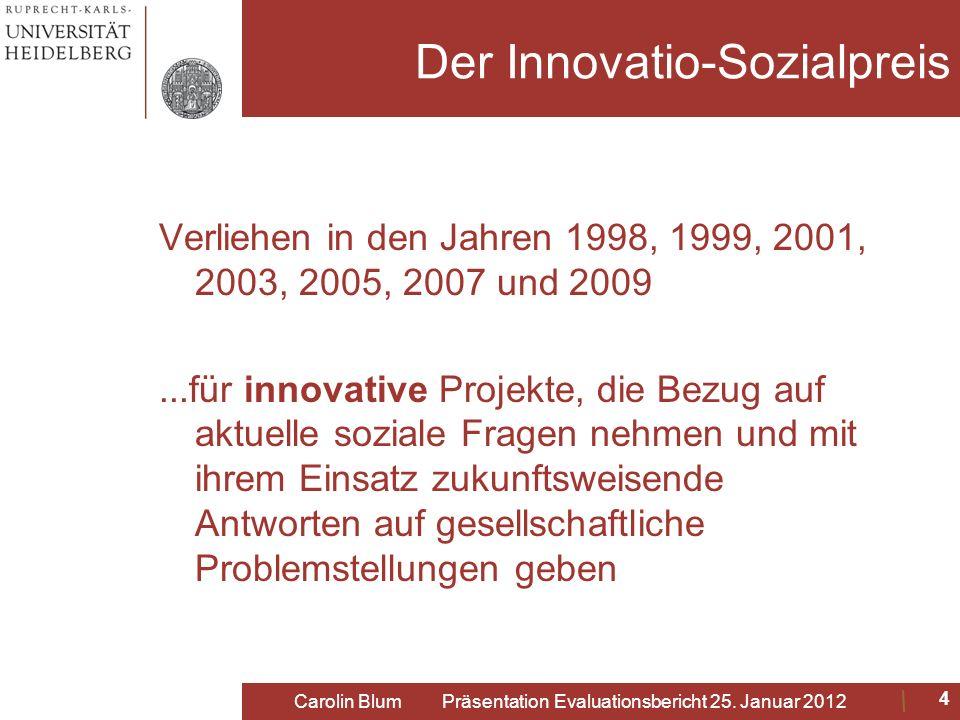 Der Innovatio-Sozialpreis