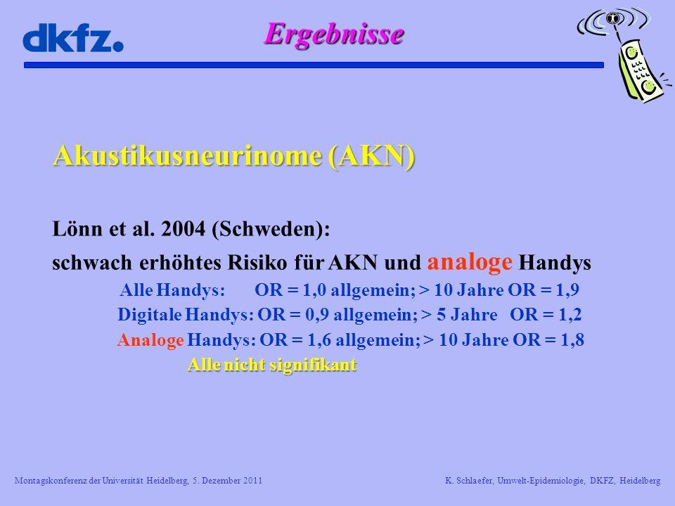Akustikusneurinome (AKN)