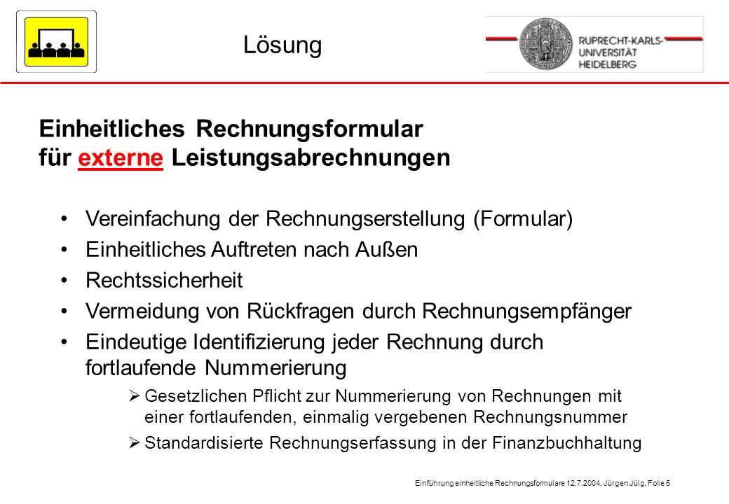 einheitliche rechnungsformulare der universit t heidelberg ppt video online herunterladen. Black Bedroom Furniture Sets. Home Design Ideas