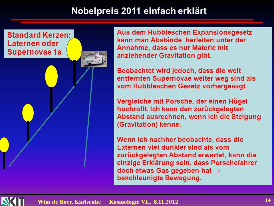 Nobelpreis 2011 einfach erklärt