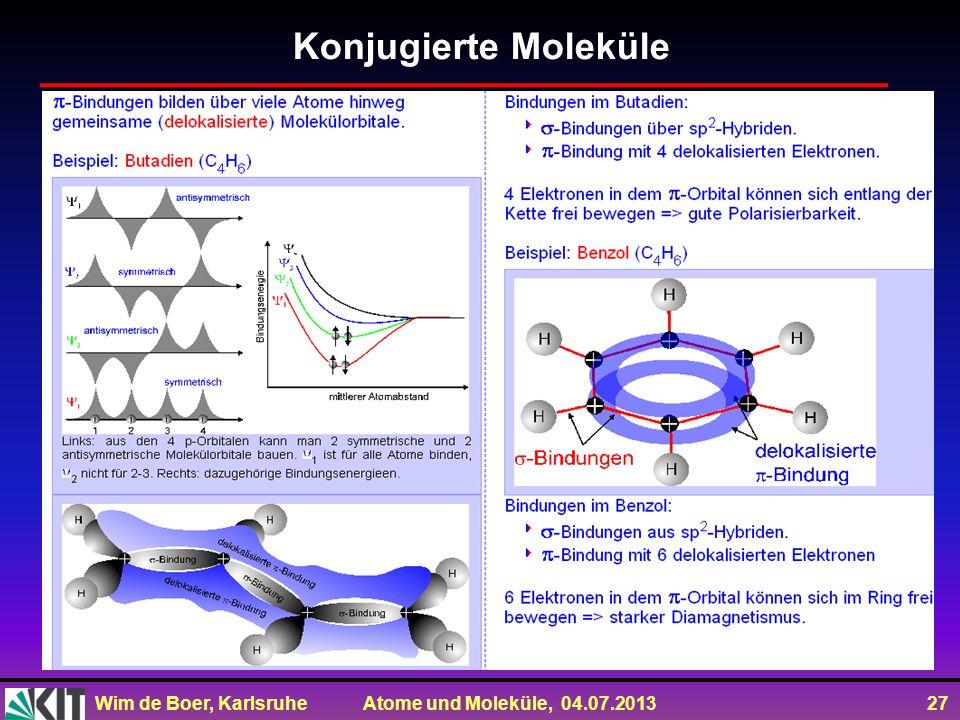 Konjugierte Moleküle