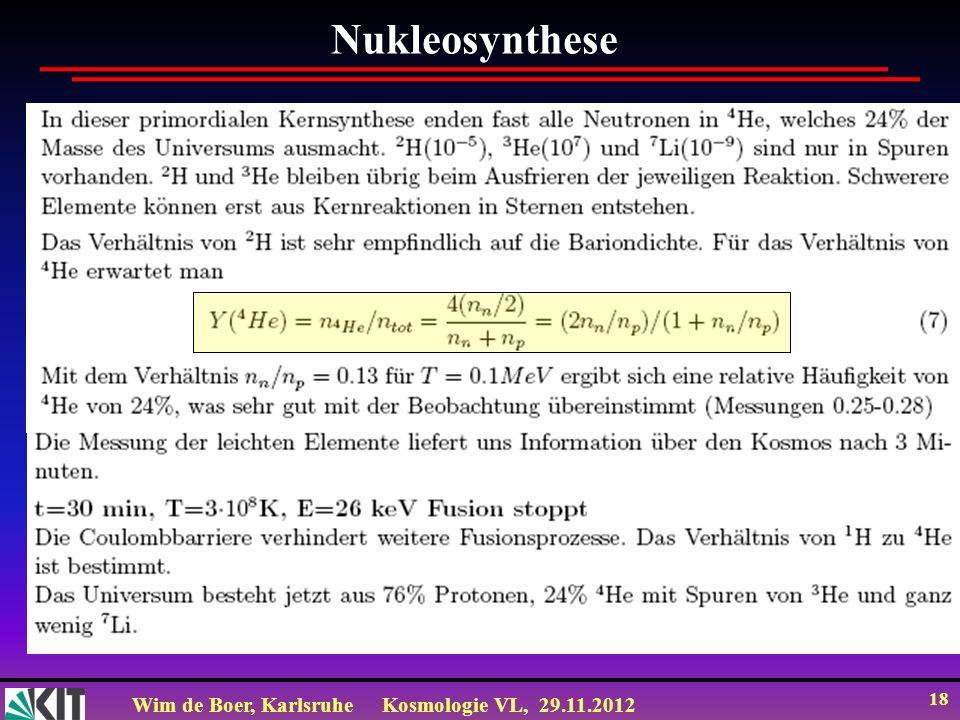 Nukleosynthese