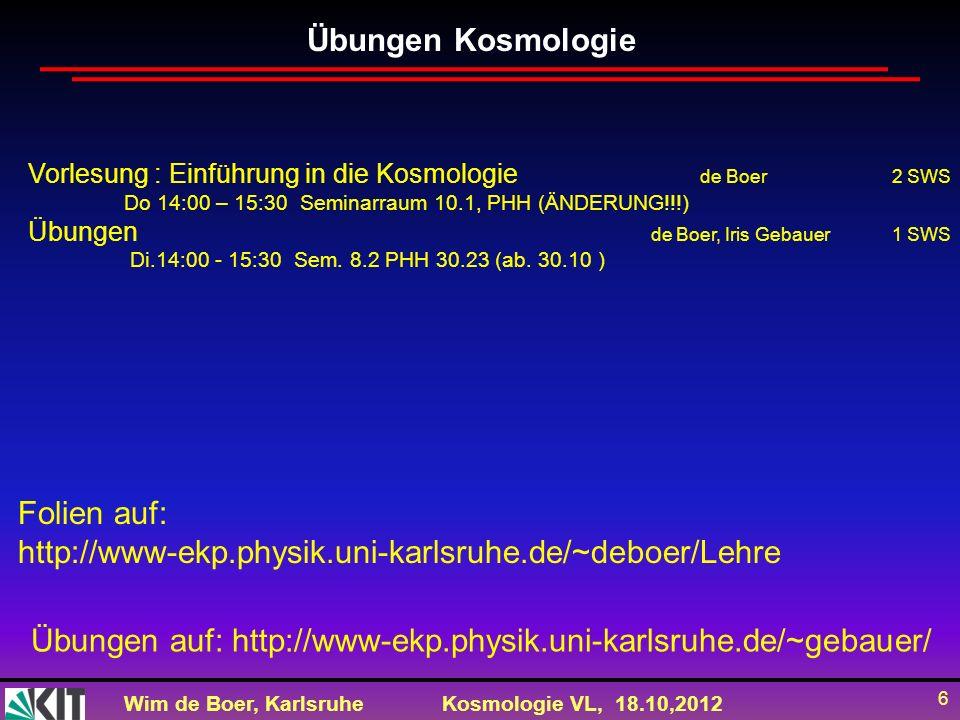 Übungen auf: http://www-ekp.physik.uni-karlsruhe.de/~gebauer/