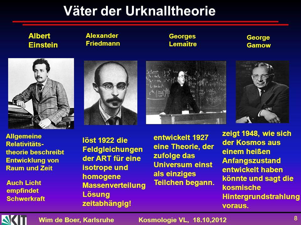 Väter der Urknalltheorie