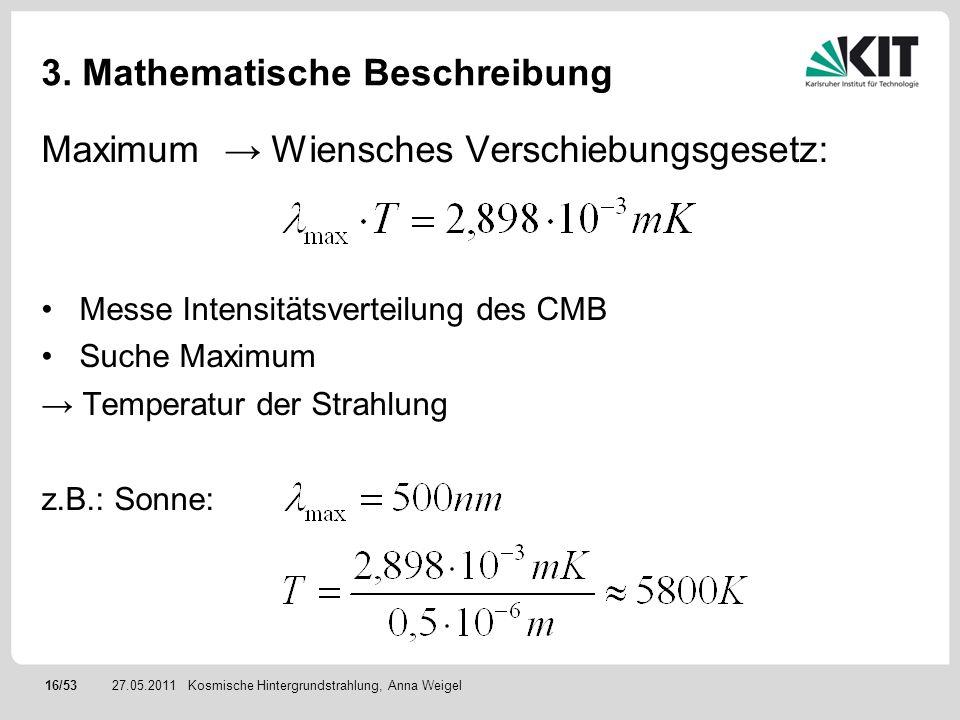 3. Mathematische Beschreibung