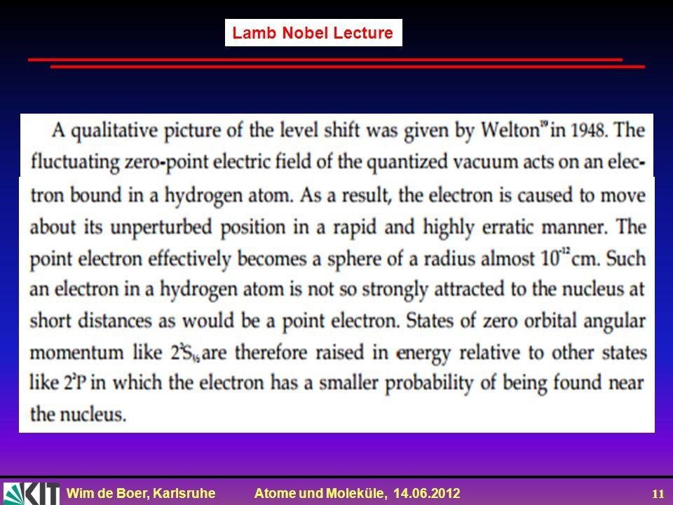 Lamb Nobel Lecture