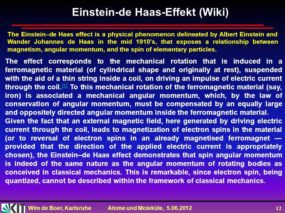 Einstein-de Haas-Effekt (Wiki)