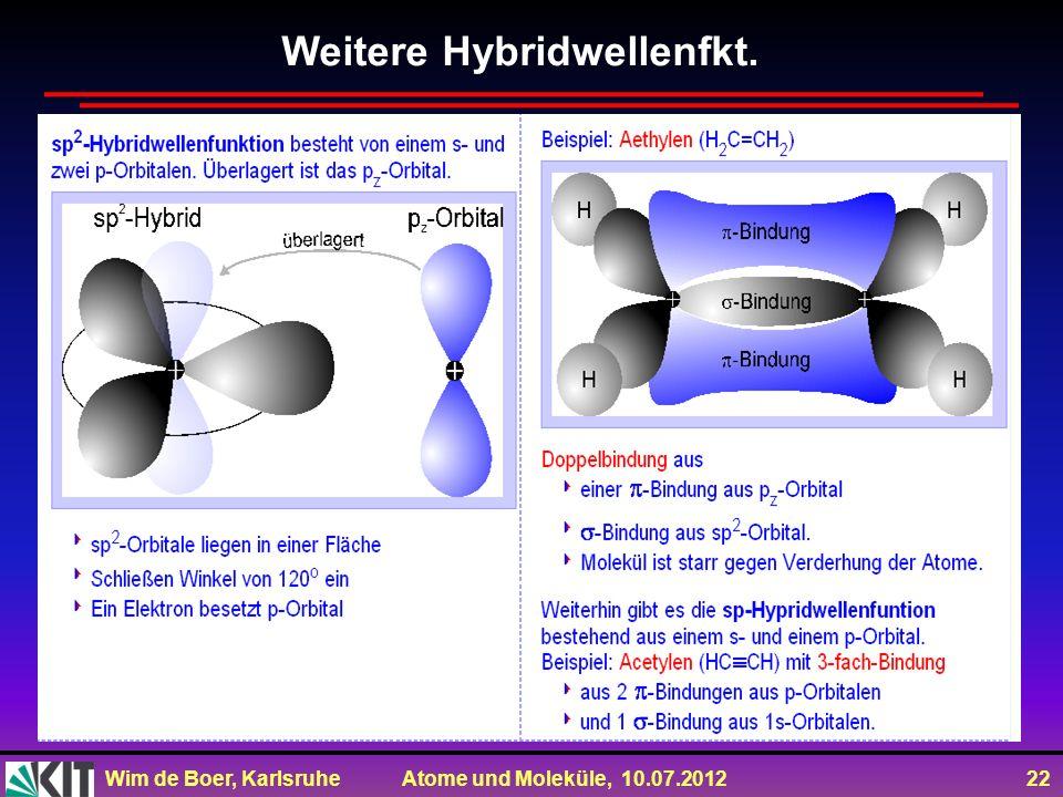Weitere Hybridwellenfkt.
