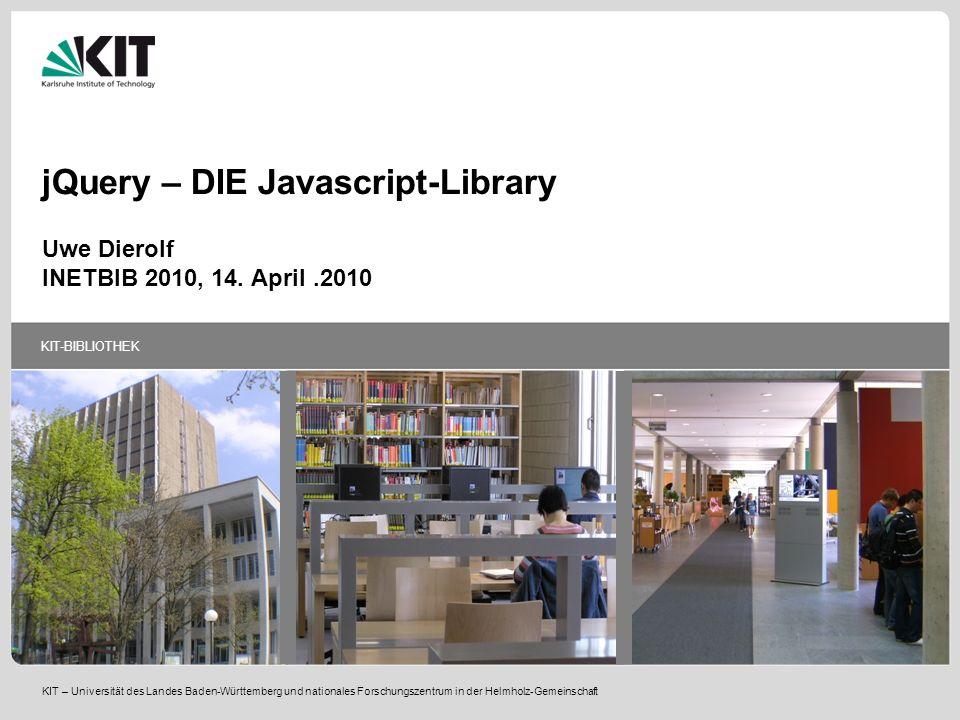 jQuery – DIE Javascript-Library