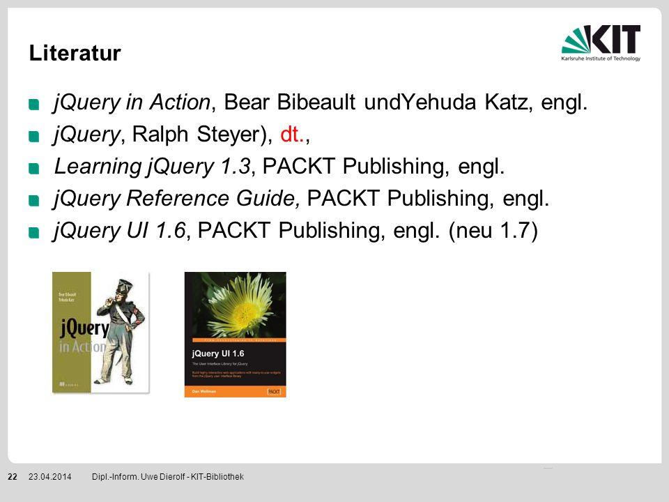 jQuery in Action, Bear Bibeault undYehuda Katz, engl.