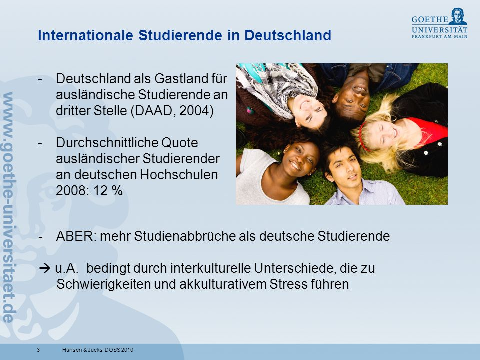 Internationale Studierende in Deutschland