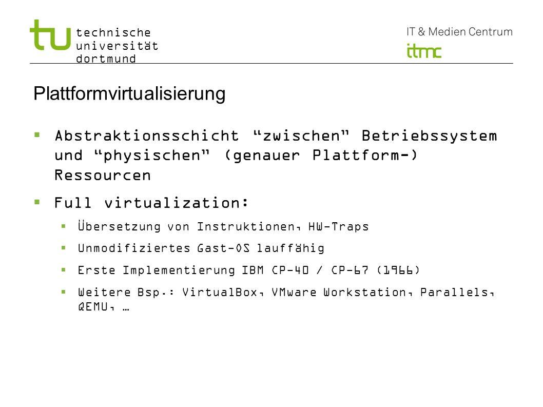 Plattformvirtualisierung