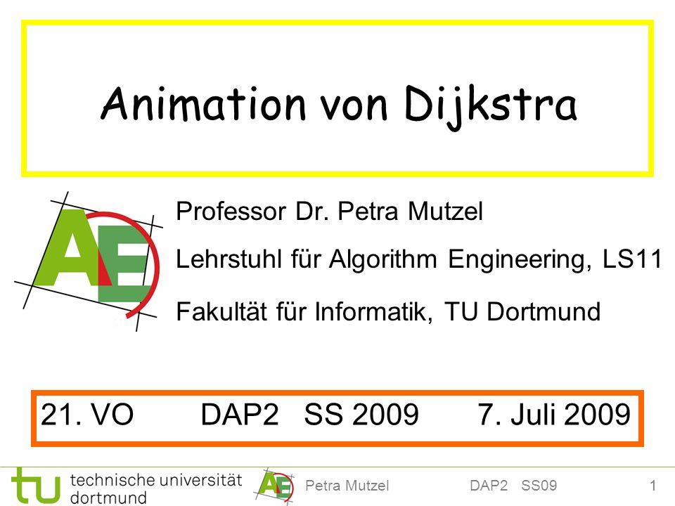 Animation von Dijkstra