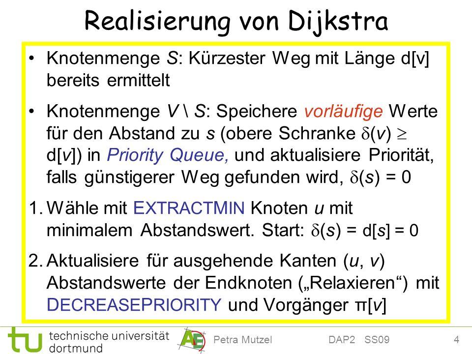 Realisierung von Dijkstra