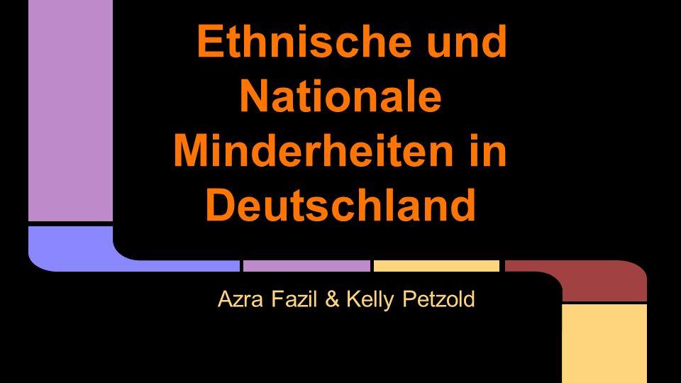 Ethnische und Nationale Minderheiten in Deutschland