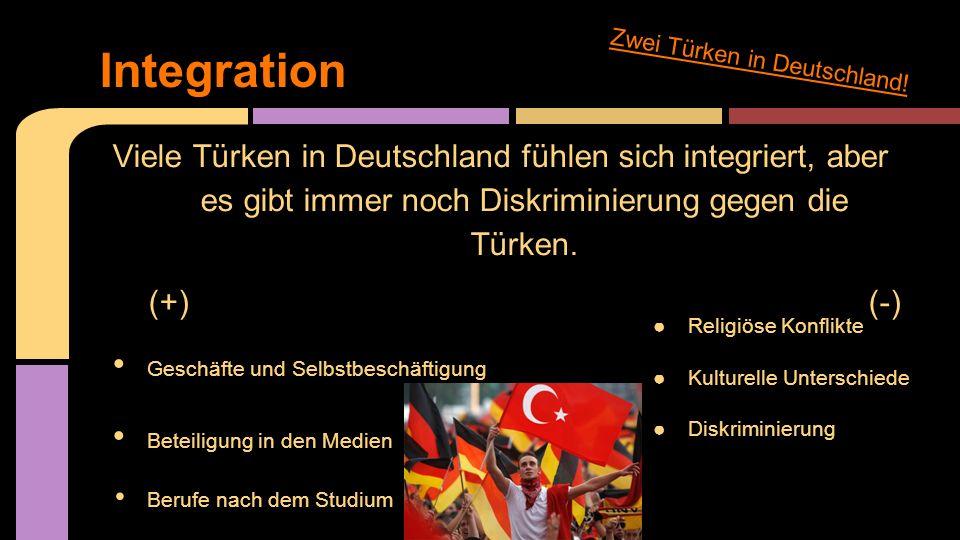 Integration Zwei Türken in Deutschland!