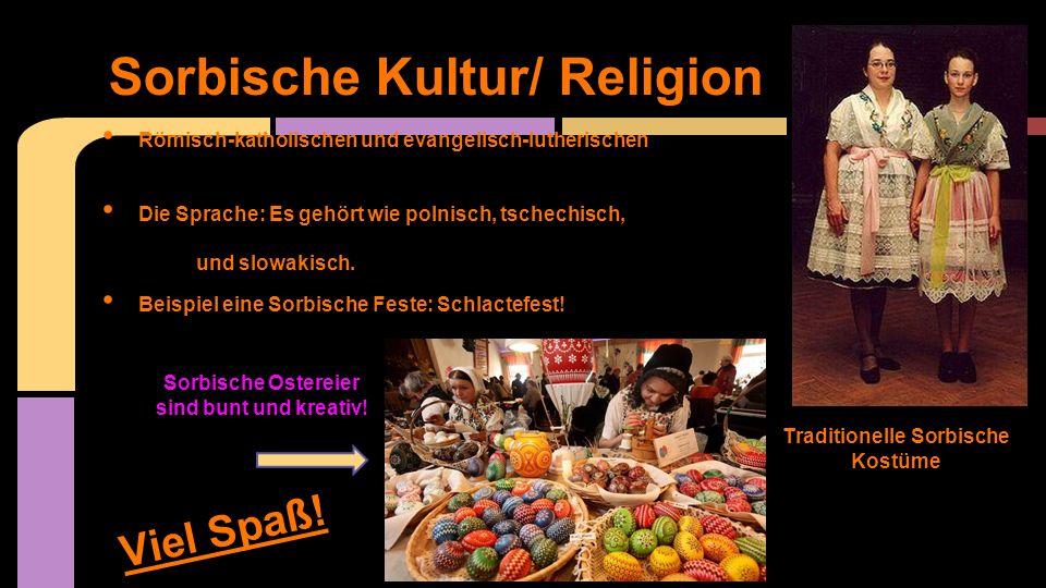 Sorbische Kultur/ Religion