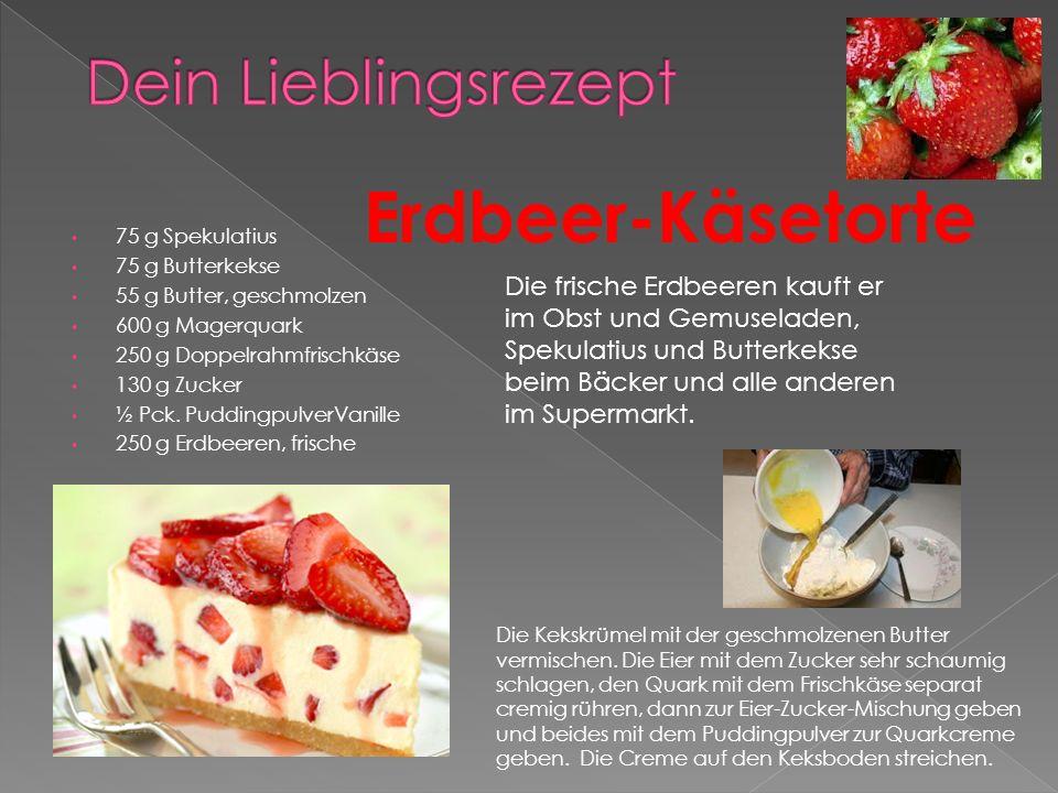 Erdbeer-Käsetorte Dein Lieblingsrezept