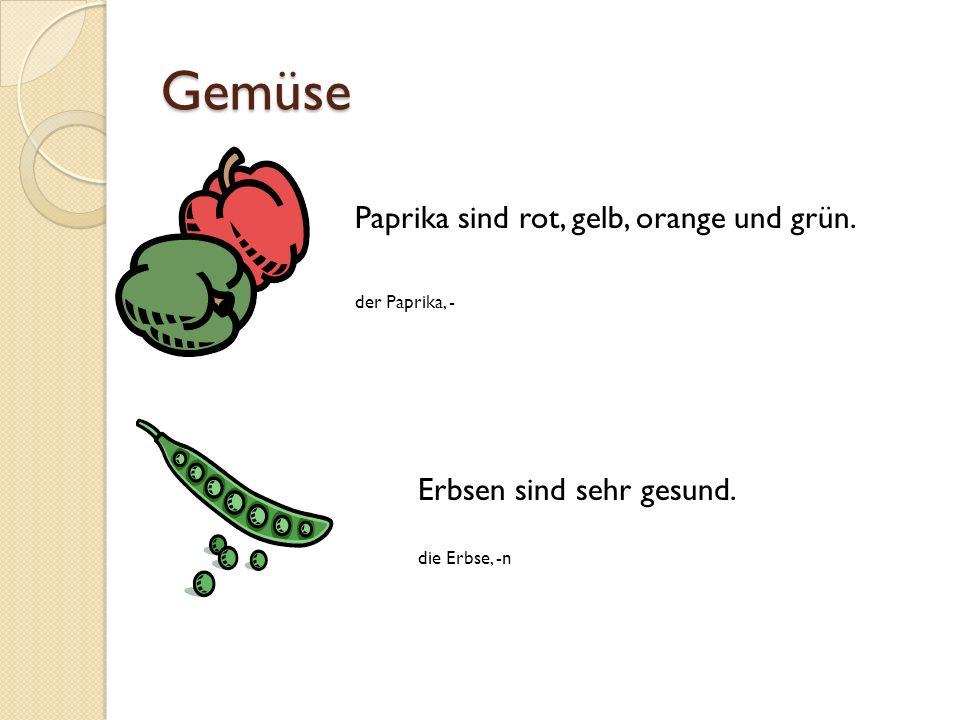Gemüse Paprika sind rot, gelb, orange und grün.