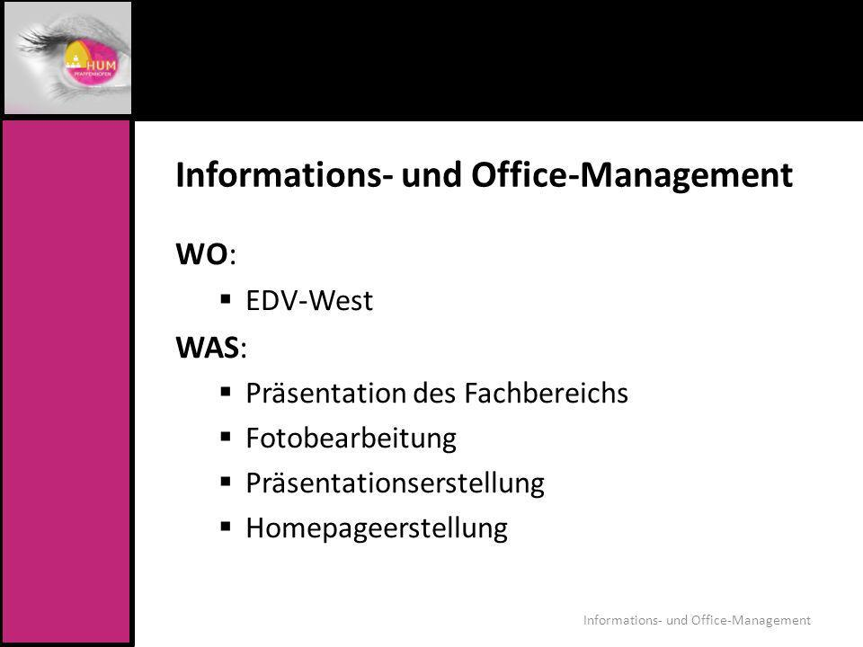 Informations- und Office-Management