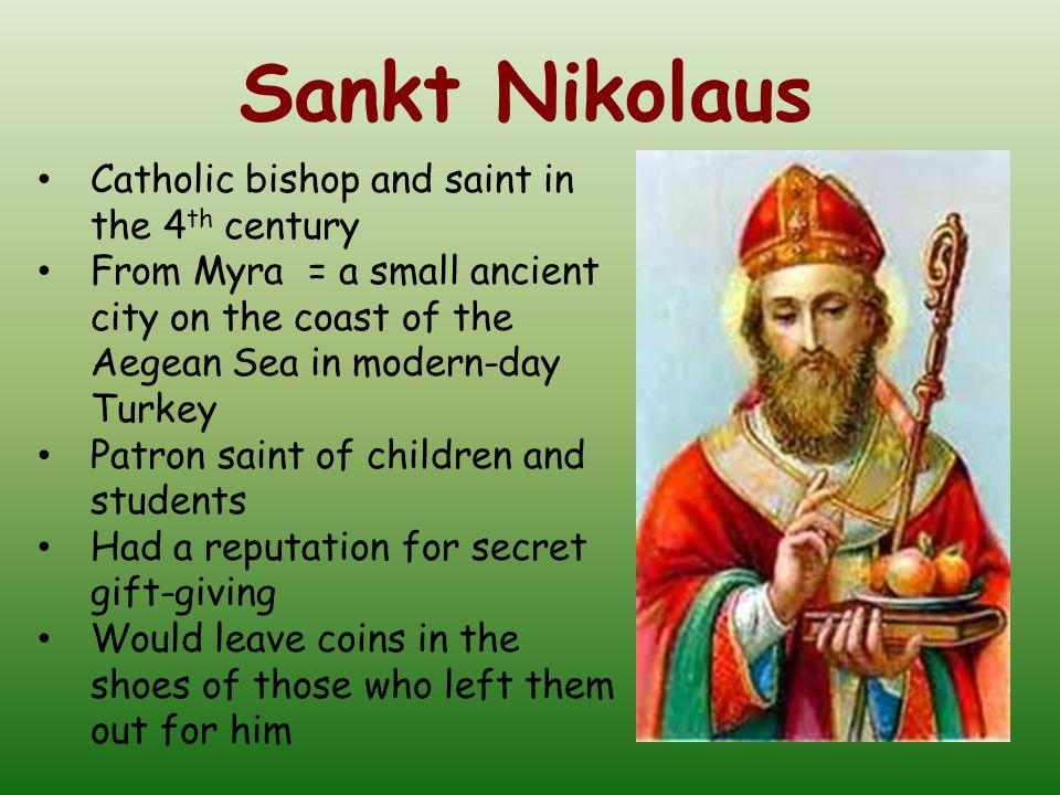 Sankt Nikolaus Catholic bishop and saint in the 4th century
