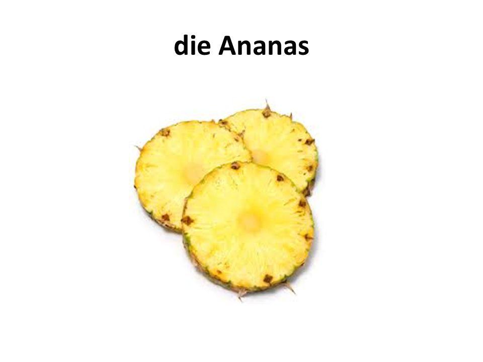 die Ananas