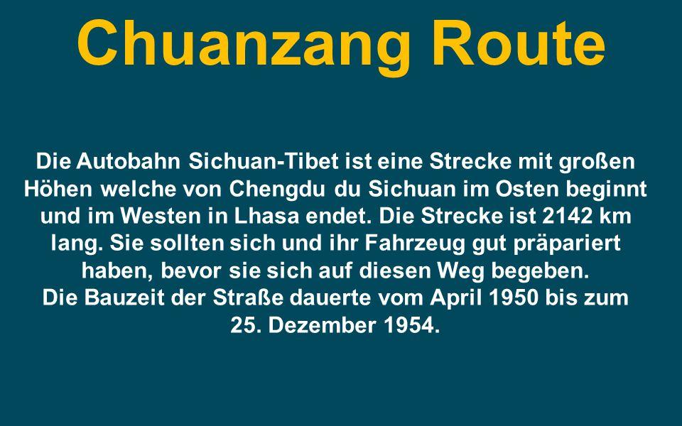 Chuanzang Route