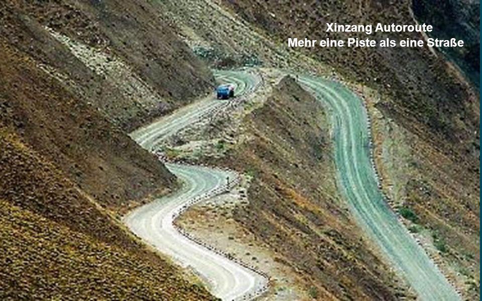 Xinzang Autoroute Mehr eine Piste als eine Straße