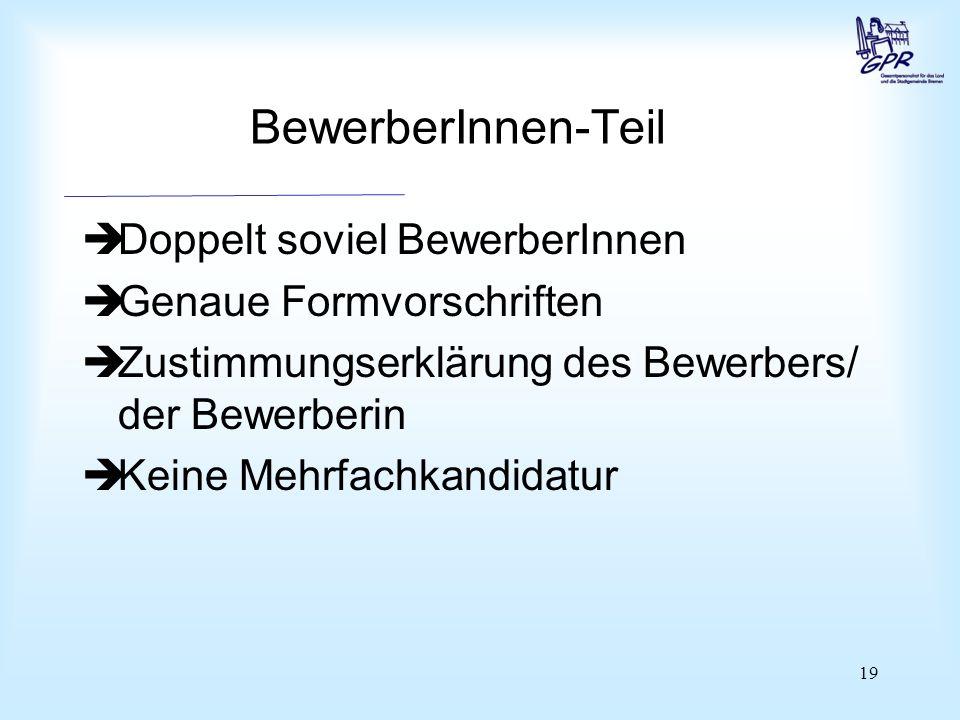 Unterschriftenteil Rechtsgrundlagen § 15 Abs. 4 und 5 BremPersVG und § 8 Abs. 3 WOBremPersVG.