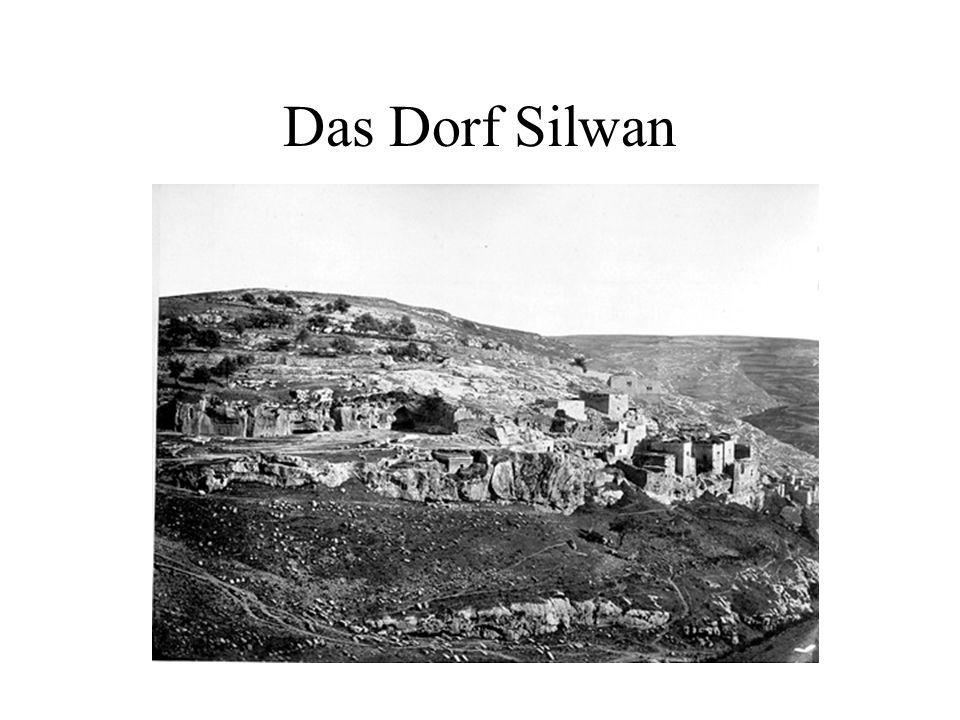 Das Dorf Silwan