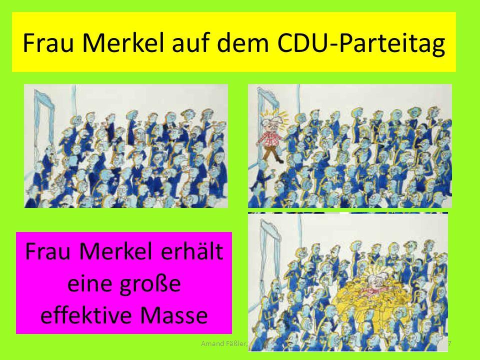 Frau Merkel auf dem CDU-Parteitag