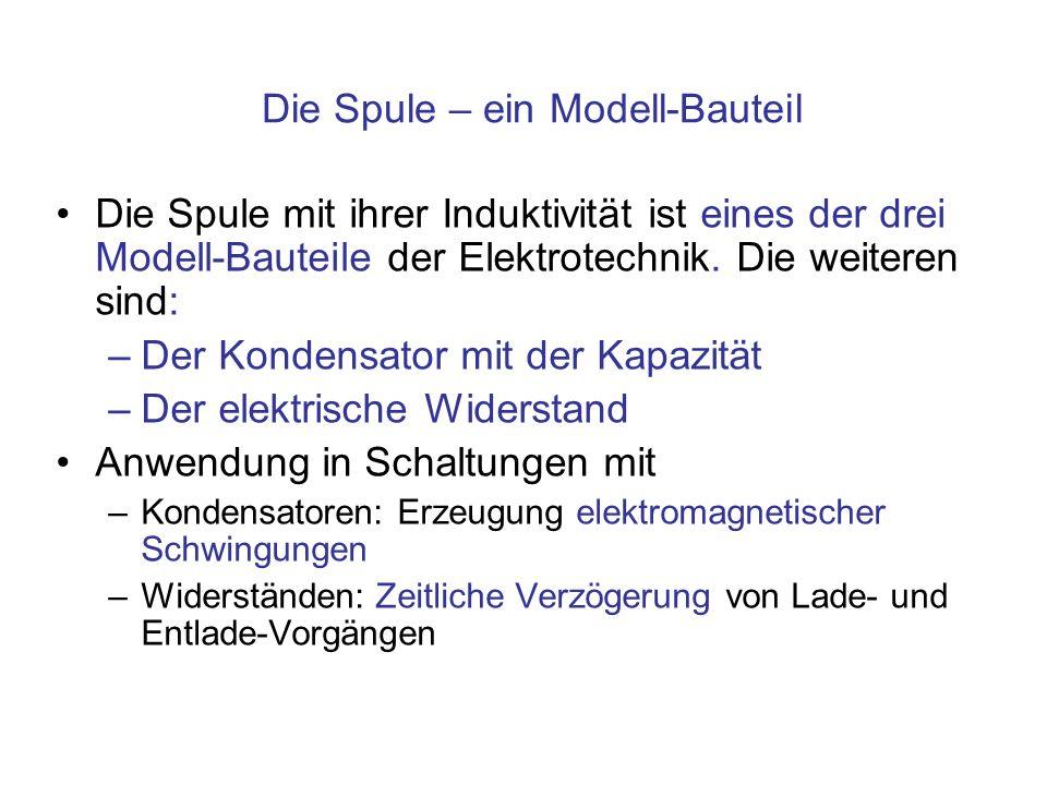 Die Spule – ein Modell-Bauteil