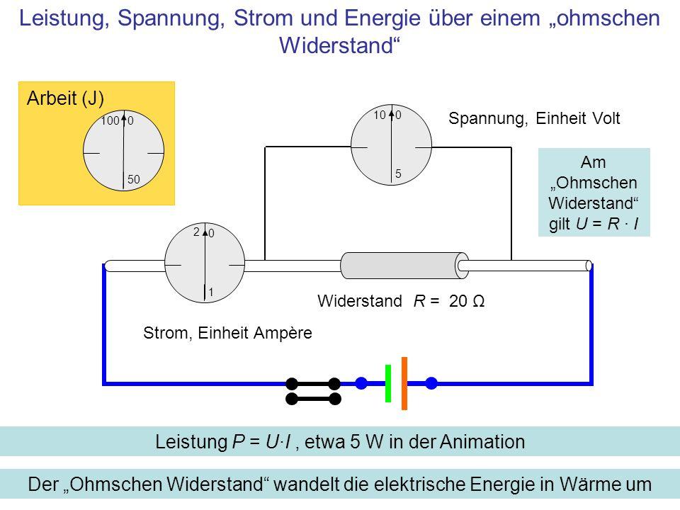 elektrisches potential spannung energie und leistung spannung ber kondensator spule. Black Bedroom Furniture Sets. Home Design Ideas