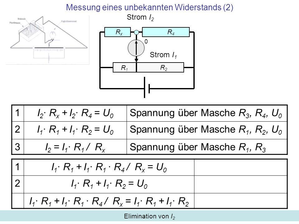 Messung eines unbekannten Widerstands (2)