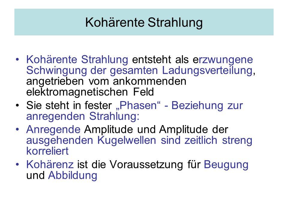Kohärente Strahlung
