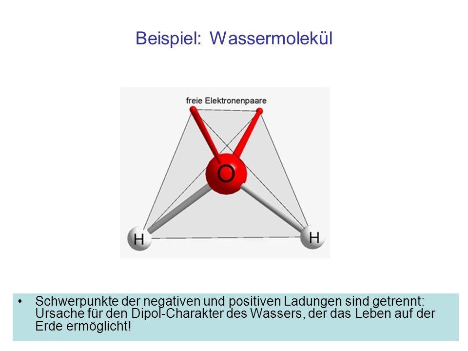 Beispiel: Wassermolekül