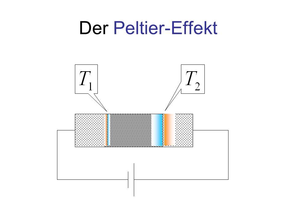 Der Peltier-Effekt