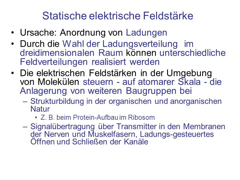 Statische elektrische Feldstärke
