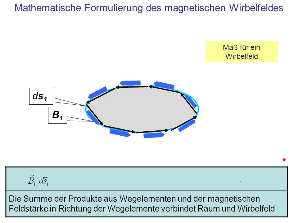Mathematische Formulierung des magnetischen Wirbelfeldes
